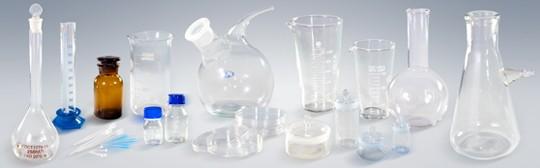 Лабораторная посуда из стекла